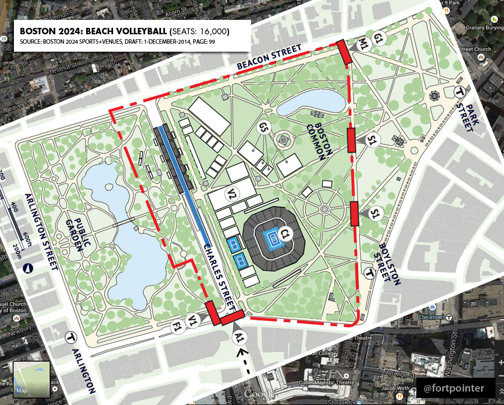 Boston Common - Boston common map